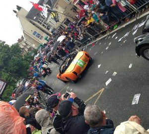 TVR in the Parade in Le Mans_compressed